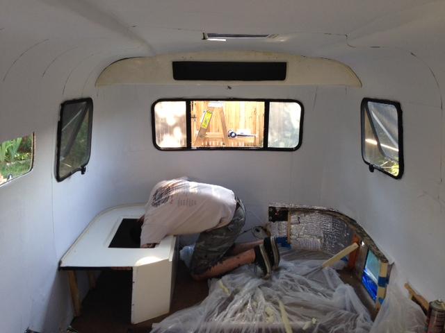 Camper Renovation TrailerUntrashed